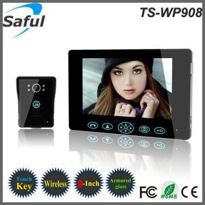China 9 inch touch key unlocking waterproof phone video phone door wirelesselectronic intercom on sale