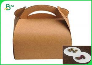 China Food Pack Grade Wrapping Boad Paper Waterproof Coated Paper Box on sale