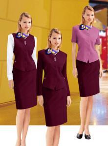 China European Style elegant corporate uniforms ladies staff uniform for women on sale