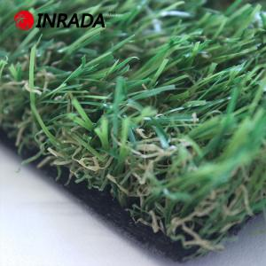China 30mm 40mm 16800density Autumn Landscape Artificial Grass Decoration Garden, Synthetic Turf Grass For Garden Field on sale