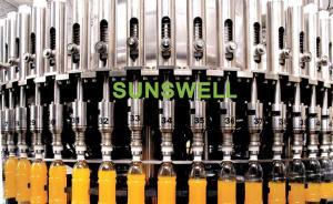 China Bottling Automatic Juice Filling Machine / Bottled Juice Processing Equipment on sale