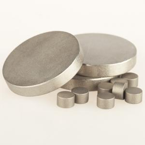 China Light Weight Samarium Cobalt Disc Magnets Various Shape For Industrial Motors on sale