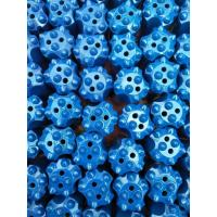 7 Tips Blast Hole Drill Bits , Tapered Carbide Rock Drill Bits With High Hardness