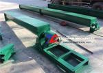 Professional U Trough Screw Conveyor , High Speed Shaftless Screw Conveyor