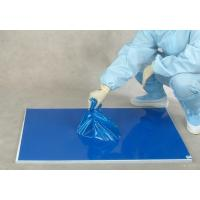 China 30 layers blue floor protection PE laboratory sticky mat on sale