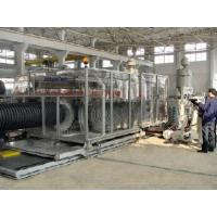 China corrugated pe pipe production line on sale