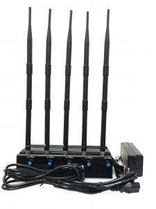 China Adjustable All WiFI 5.2G 5.8G 2.4G Jammer 4 bands on sale