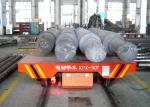 Warehouses transport motorized rail guided transfer cart for foundry plant