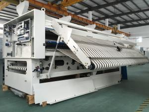 Quality Quilt Cover Fabric Folder Machine Automatic Sheet Folding Machine  For Sale