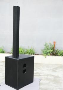 China Black PA Sound Line Array Speaker , Active Subwoofer Speaker 3 Inches on sale