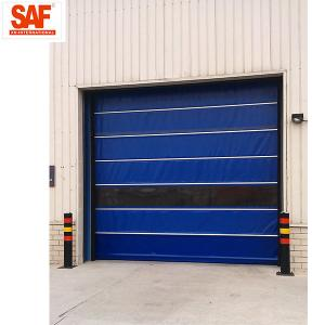 China Fast shutter door with Protection PVC Roll Up for clean area factory automation on sale