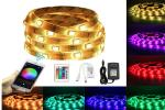 China 150 LEDS 5M RGB Bluetooth LED Strip 12V DC WiFi Phone APP Remote Controller+ 3A Power Adapte wholesale