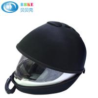 Custom black Eva travel portable case for motorbike bicycle helmet 360*300*260 CM