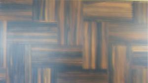 China Ebony parquet flooring (Engineered or Solid) Fishing bone on sale
