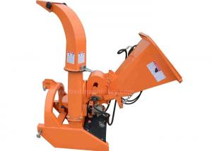 China 5 Inch Chipping Pto Powered Chipper Hydraulic Feed With Low Maintenance on sale