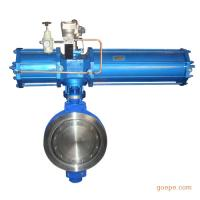 Large Flow Capacity Power Station Valve Butterfly Valve Open Structure