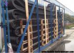 Heat Resistant Telescopic Conveyor For Truck Loading , Low Noise Portable Incline Conveyor