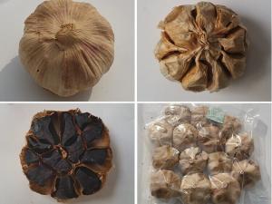 China Multiple Clove Black Garlic/aged black garlic/fermented black garlic on sale