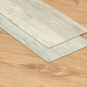 China Wood Texture Interlocking Luxury Vinyl Tile Flooring Quick Fitting Interior Decoration on sale