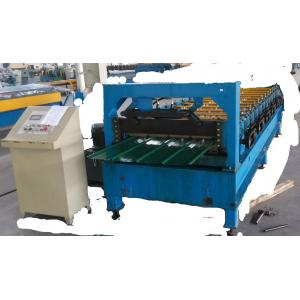 China Hot Sale!roof sheet roll forming machine/Double Layer Color Steel Trapezoidal Roof panel RollForming Machine on sale