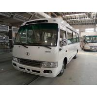 Tourist coaster Mini Buses Leaf Spring Diesel JAC Chassis with ISUZU engine