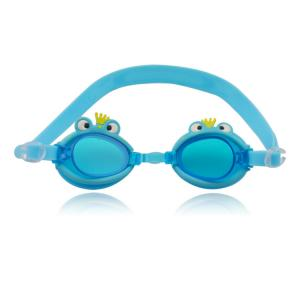 China cartoon kid swimming goggles with one strap with drawing on it on sale
