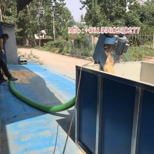 China 5T a hour protable automatic flexible auger coneyor belt machine on sale