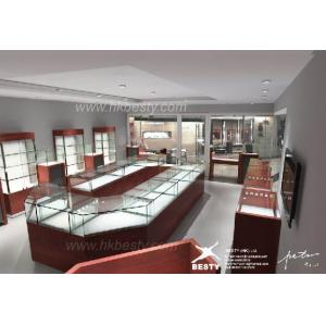China high-end jewelry display cabinet on sale