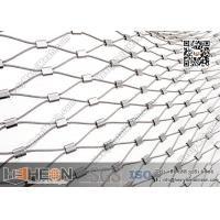 316L Stainless Steel Ferrule Wire Rope Mesh Netting | China Factory Direct Sales