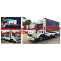 Euro 5 FAW mobile digital LED billboard advertising truck for sale, high quality customized FAW P8 LED adverising truck