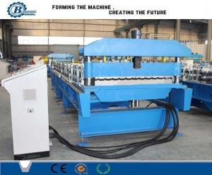 China 1250 mm Galvanized Roofing Sheet Roll Forming Line 5.5kw Durable on sale