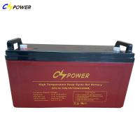 China CSPOWER HTL12-120 120Ah Long Life Deep Cycle GEL Battery with good performance with 45 degree on sale
