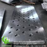 Carved aluminum facade decorative wall cladding panel CNC cutting panel