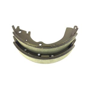 China Auto spare parts brake pad brake shoe for sale, ceramic rear parking brake shoe with new formulation on sale