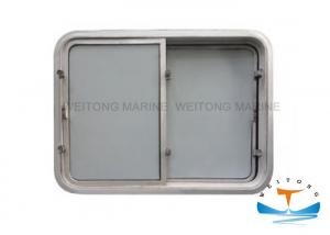 China Aluminium Marine Windows For Boats Wheel House Fixed Type 200-450mm Clear Size on sale