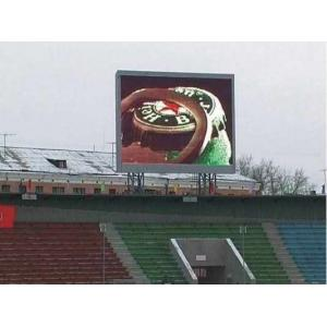 China Taiwan led chip P10 Outdoor led display Video 6500 nits for advertising , shoping mall on sale