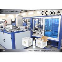 Carbonated Drink Glass Bottle Packing Machine For Folding Carton Packaging