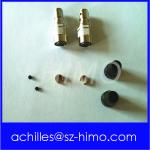 wholesale solder 4pin Industrial Miniature Connectors Hirose Equivalent power supply connector