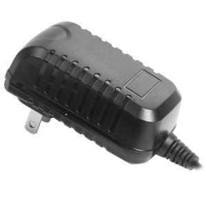 China 12 Volt Universal DC Power Adapter Wall Wart Power Supply Black EN61347 on sale
