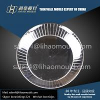PS high speed plastic injection mould of middle size  thin wall plate manufacturer
