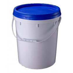 china large 16kg pe pp plastic barrels with lids handles for paint containers for