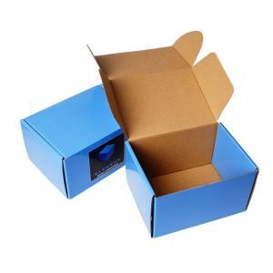 China Custom Corrugated Gift Shoe Cloth Shipping Paper Carton Box on sale