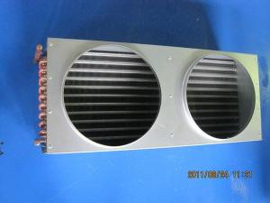 China Customized Aluminium Fin Type Air Cooled Condenser For Refrigeration Condensing on sale