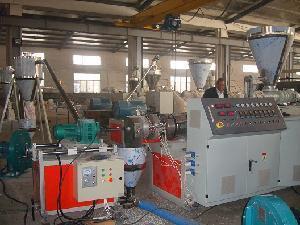 China PVC Hot Cutting Pelletizing /Granulating Line (SJSZ80/156) on sale