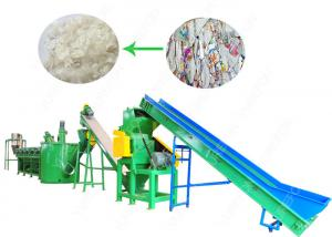 China 150kw PP HDPE Plastic Bottle Crushing And Washing Machine 304 Stainless Steel on sale