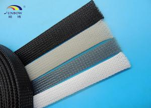 flame resistance pet cable expandable sleeving for wire harness rh siliconefiber sell everychina com