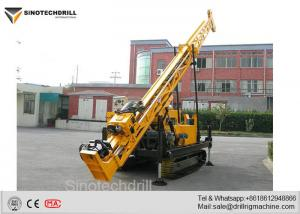 China 300-400M Depth Crawler Wireline Core Drill Rig with Complete Drilling Accessories V1 on sale