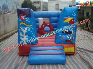 China Commercial Inflatable Bounce Houses , Customized Bouncy Castles on sale
