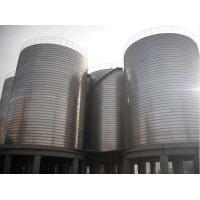 Professional Galvanized Grain Bin Steel Silos For Grain Storage 20 Years Service Life
