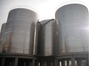 China Professional Galvanized Grain Bin Steel Silos For Grain Storage 20 Years Service Life on sale
